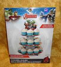 The Avengers,Cupcake/Treat Stand,Cardboard,Wilton,1512-4110,Marvel Comics