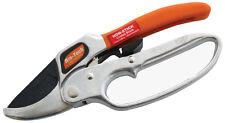Deluxe Ratchet Secateurs Garden Pruners Pruning Secateur 200mm