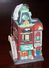 DOROTHY'S DRESS SHOP Dept 56 Christmas in City Ceramic Ornament New in Box 98740