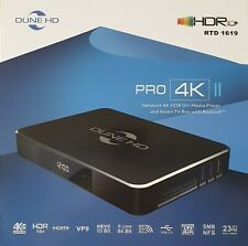 *NEW* Dune HD Pro 4K II,  4Kp60 HDR10+ Media Player, Android 9.0 Smart TV box