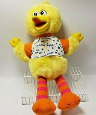 Peek a Boo Big Bird Battery Tyco Playtime Sesame Street Plush