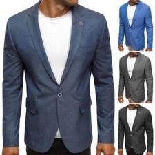 Traje de chaqueta de hombre azul