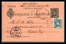 GP GOLDPATH: SPAIN POSTAL CARD 1906 _CV428_P10