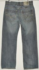 """MEN'S JEANS FADED BLUE DIESEL ROODY W 32"""" L34"""" MADE IN ITALY"""