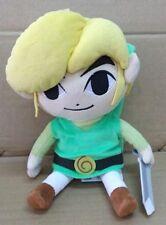 GENUINE Japan Sanei Plush ZELDA The Wind Waker HD Link Plush Doll M size 28cm