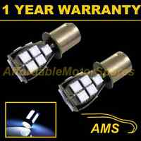 2X 382 1156 BA15s 207 P21W WHITE 18 SMD LED REAR INDICATOR LIGHT BULBS RI201202