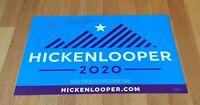 John Hickenlooper Governor Colorado Autograph Signed Placard Sign 2020 President