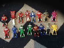 power rangers super megaforce ranger keys yellow red blue green silver gold pink