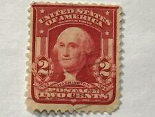 US 1902 WASHINGTON 2 CENTS STAMPS