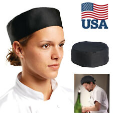 Breathable Mesh Top Professional Catering Chefs Hat Skull with Adjustable Strap