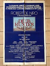 The Deer Hunter 1978 Authentic One Sheet Movie Poster