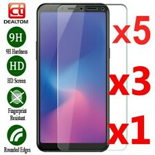 Lots Tempered Glass Screen Protector For Samsung Galaxy A6 A7 A8 Plus A9 2018 AU