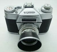 Vintage Voigtlander Bessamatic 35mm film Camera West Germany