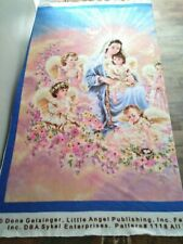 LITTLE ANGEL fleece fabric large panel for blanket throw Gelsinger guardian new
