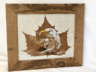 Wind Spirits Talking Leaves JoAnn Tinning Original Painting On Sycamore 11x13