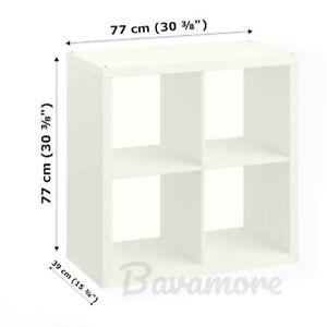 """IKEA KALLAX Shelf Unit, White, 30⅜""""x30⅜"""" BRAND NEW-"""