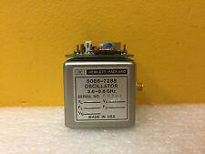 HP / Agilent 5086-7288, 3.6 to 8.6 GHz, SMA (F), YIG Oscillator + 5061-1026