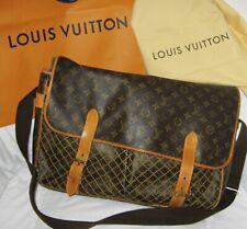 Rare Louis Vuitton Congo Messenger Leather Trimmed Monogram Canvas Shoulder Bag