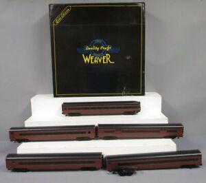 Weaver O Pennsylvania Passenger 5 Car Set [3Rail]/Box