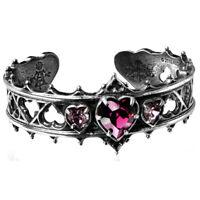 Alchemy Gothic Elizabethan Pewter Bracelet Bangle - Made in England UK