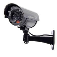 Cámaras Simuladas Seguridad de la vigilancia exterior / interior con LED ROJO