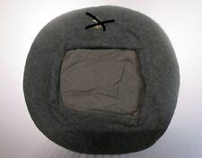 Basco grigioverde in panno di lana , senza fregio -replica - WWII