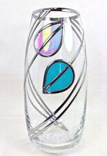 Glass Cylinder Art Deco Style Decorative Vases