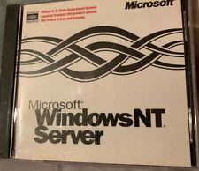 Microsoft Windows NT Server, Version 4.0 with CD Key