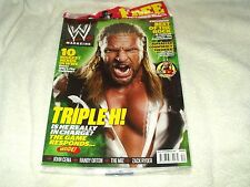 WWE Wrestling Magazine November  2011 Triple H