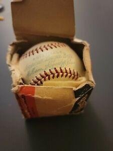 Vintage Unused William Harridge Reach Official American League Baseball