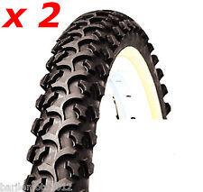 N°2 Copertone / Pneumatico Bici MTB 26 x 2.10  NERO