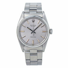 Rolex Oyster Perpetual 6426 Stainless Steel UnisexWatch Orig Band & Dial 34MM