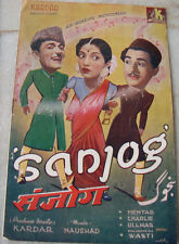 old vintage Bollywood Movies Booklets of Hindi Movies from India 1940