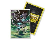 Dragon Shield Deck Protector Sleeves Japanese size NEW QYONSHI Art 60 YUGIOH