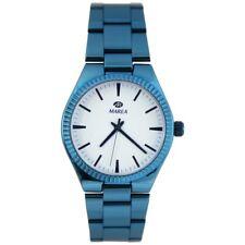 Marea Classy Damen Uhr mit Edelstahl Armband Metallic Blau B21168/10