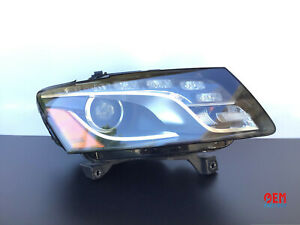 2009 2010 2011 2012 AUDI Q5 PASSENGER RIGHT SIDE HEADLIGHT XENON HID OEM
