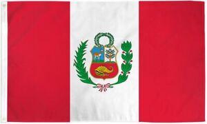 """PERU"" flag 3x5 ft poly banner 2021 COPA AMERICA"