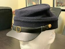 """Civil War re-enacting, Union Army Navy Blue wool Kepl, new Size Xl (7 7/8"""")"""