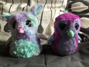 Hatchimals Full Size Toys - 2 X Rare Bunny & Penguin Great Condition - Cost $180