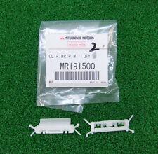 MITSUBISHI LANCER EVO5 EVO6 CP9A CLIP, DRIP MOULDING WHITE SET x2 PCS MR191500