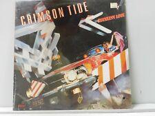 Crimson Tide LP Reckless Love   Capitol Sealed