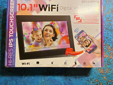 "Sylvania SDPF1095-B 10"" Digital Picture Frame 8GB/WiFi/IPS Touchscreen OPEN BOX"