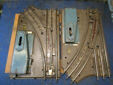 AMERICAN FLYER PRE WAR O GAUGE MANUAL SWITCHES RH & LH PAIR WORKING