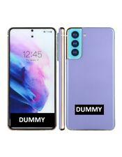 TELEFONO FINTO DUMMY SCHERMO COLORATO REPLICA Samsung Galaxy S21 5G VIOLA