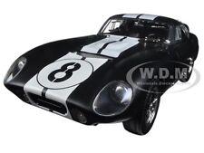 1965 SHELBY COBRA DAYTONA COUPE #8 MATT BLACK 1:18 DIECAST ROAD SIGNATURE 92408