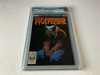 WOLVERINE LIMITED SERIES 3 CGC 9.6 WHITE PAGES FRANK MILLER MARVEL COMICS 1982
