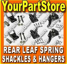 83-97 FORD RANGER Pickup REAR LEAF SPRING HANGER Hangers SHACKLE & BRACKET KIT