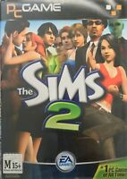 The Sims 2 PC Vintage Game 4 Discs Manual Included Free Postage