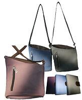 kleine Handtasche Abendtasche Umhänger Geldbörse Geldbeutel metallic Leder-Optik