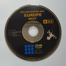 2011-2012 Toyota/Lexus Generation 1 Sat Nav Map update WEST DVD disc